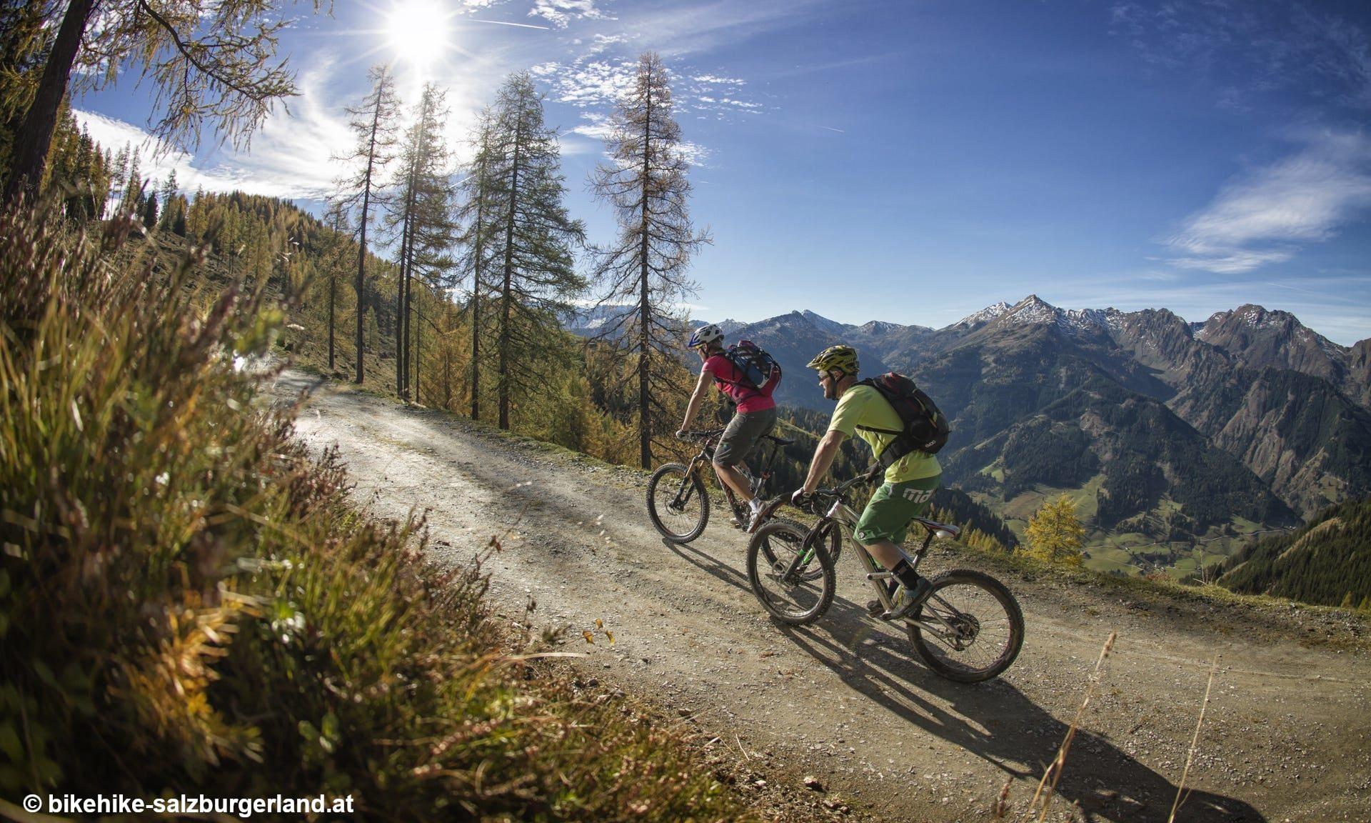 Wandern und Fahrrad in Flachau