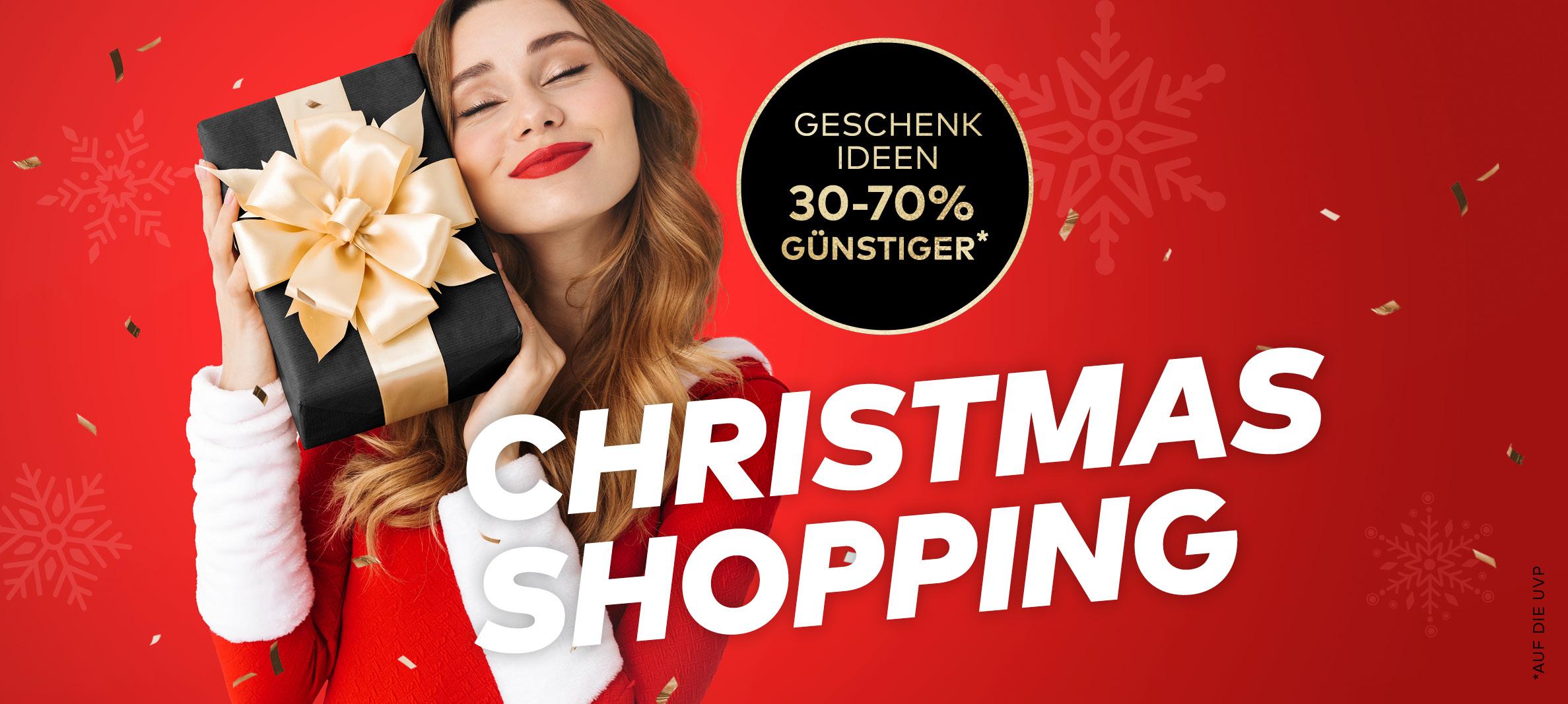 Weihnachten Shopping Outlet Center Österreich