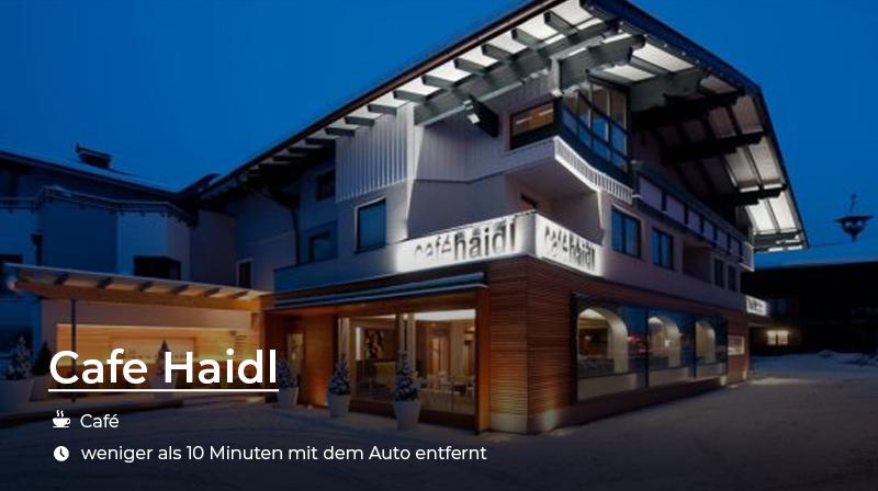 Cafe Haidl Salzburger Land