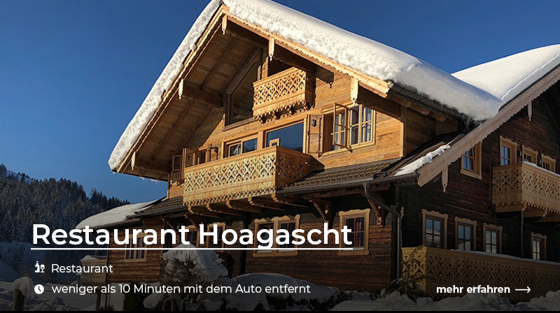 Restaurant Hoagascht Österreich